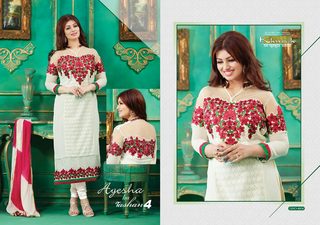 Diva Ayesha Takia Straight Cut Salwar SuitsCatalogue H